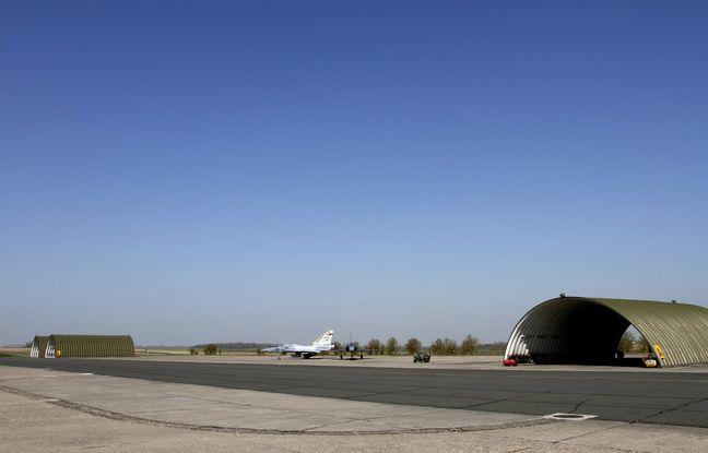 Cambrai, le 2 avril 2012. La Base AŽérienne 103 (BA 103).