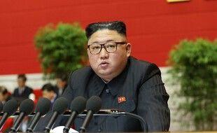 Kim Jong-un le 6 janvier 2021, à Pyongyang.