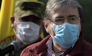 Le ministre colombien de la Défense, Carlos Holmes Trujillo, est décédé du coronavirus le 26 janvier 2021.