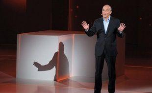 Le PDG d'Orange, Stéphane Richard, lors de sa présentation le 21 novembre 2012.