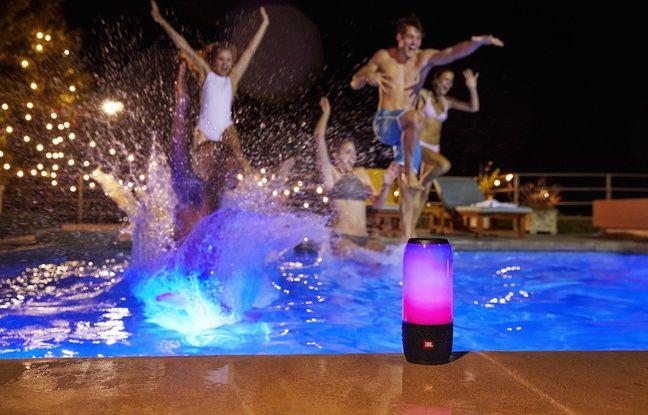 La Pulse 3 peut être utilisée au bord de la piscine. Même dedans.