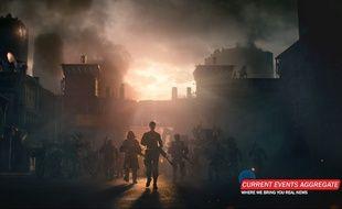 Capture d'écran du compte Twitter officiel du jeu Call of Duty le 29 septembre 2015