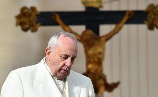 Le Pape François le 3 décembre 2014 au Vatican