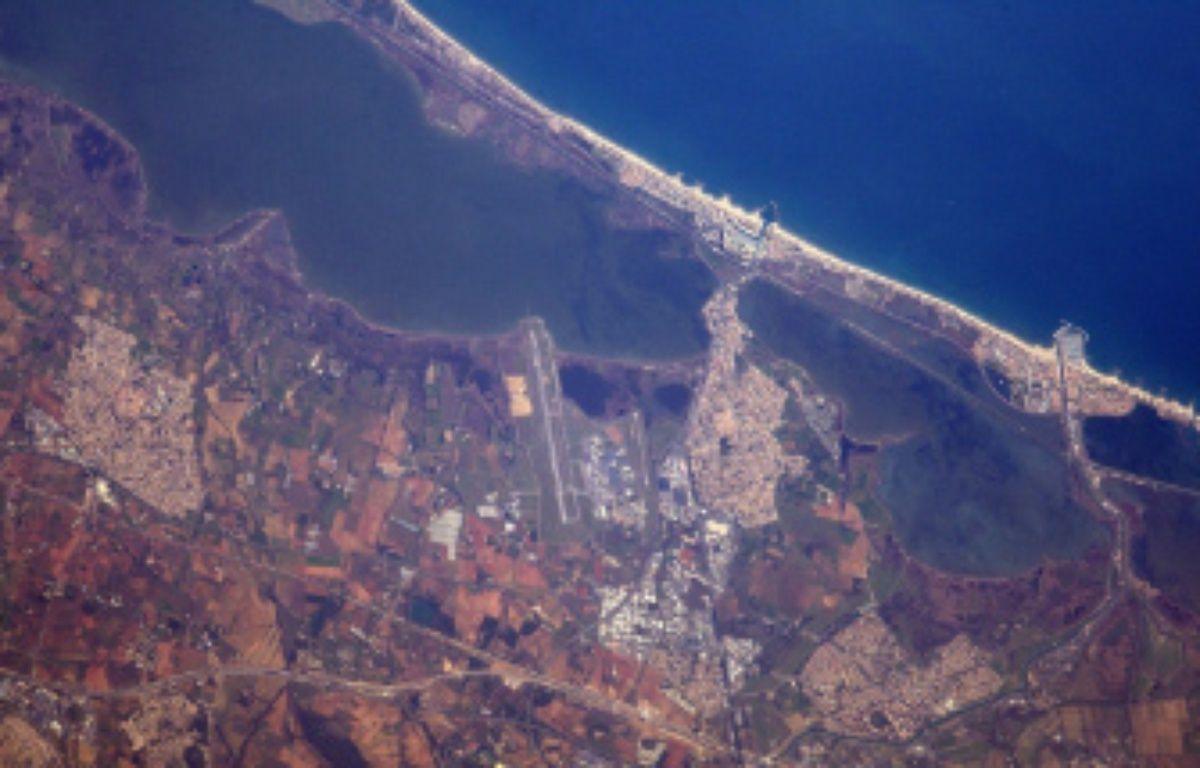 Thomas Pesquet a encore photographié Montpellier depuis l'espace. – Thomas Pesquet / Twitter
