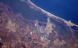 Thomas Pesquet a encore photographié Montpellier depuis l'espace.