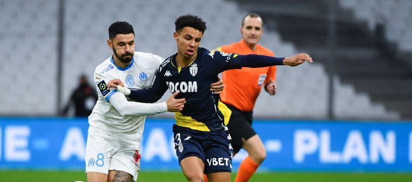 L'AS Monaco a perdu 2-1 contre l'OM, un concurrent direct.