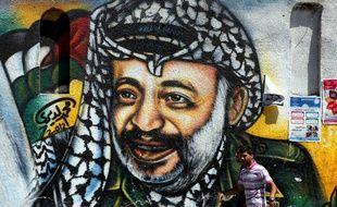 Benjamin Netanyaou refuse qu'une rue soit baptisée « Yasser Arafat » sur le territoire israélien (Illustration).