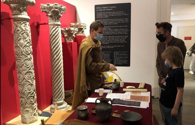 Lartoupe « Un poil d'histoire » au Musée Saint-Raymond