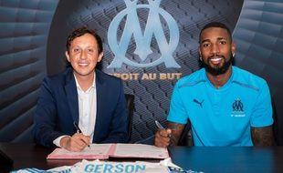 Gerson a signé un contrat de 5 ans avec l'Olympique de Marseille