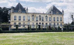 Le château du Haillan, le siège social des Girondins de Bordeaux.