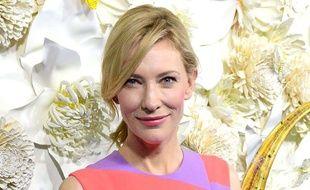 Cate Blanchett à l'avant-première australienne du film «Cendrillon» en mars 2015.