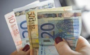 Illustration billets de banque.