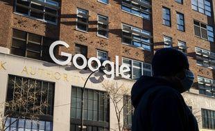Les bureaux de Google, à New York.