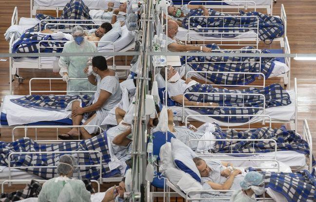 648x415 des malades du coronavirus dans un hopital de campagne de sao paulo au bresil le 9 juin 2020