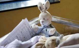 Illustration dans une maternité.