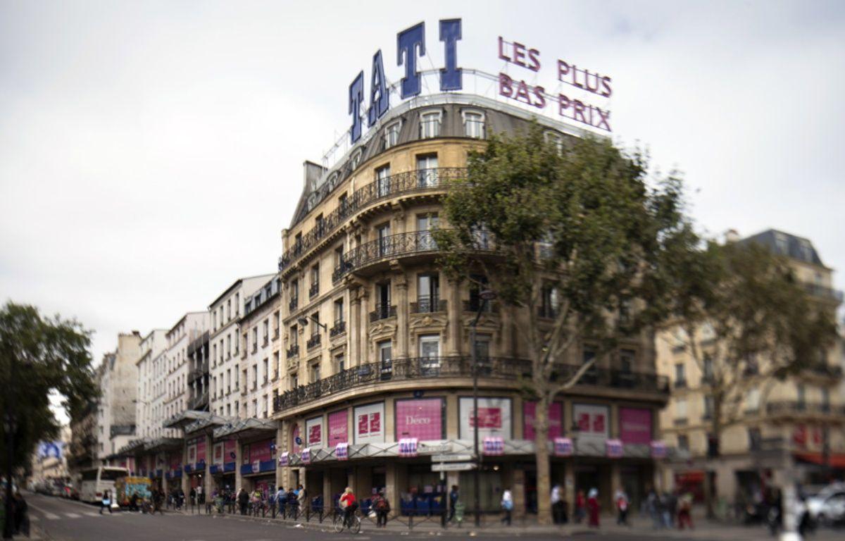 Le magasin Tati de Barbès. (Image d'illustration) – JOEL SAGET / AFP