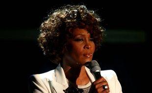 La chanteuse Whitney Houston, décédée en 2012