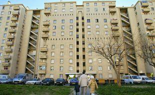La cité des Rosiers à Marseille.