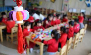 Une école maternelle en Chine le 2 mars 2021 (illustration).