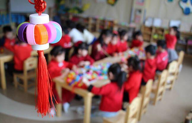 648x415 une ecole maternelle en chine le 2 mars 2021 illustration