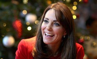 Kate Middleton, le 15 décembre 2015 à Londres.