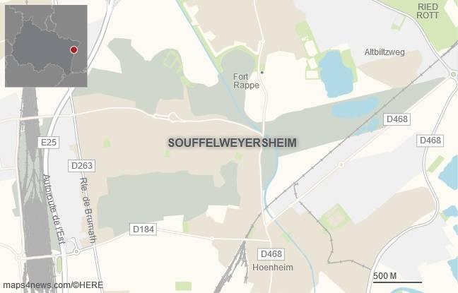 La commune de Souffelweyersheim.
