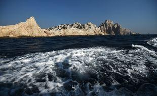 Le parc national des Calanques, au large de Marseille, est une des 1.062 aires marines protégées de la mer Méditerranée.