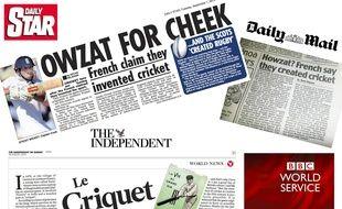 La presse anglaise a largement traité l'événement