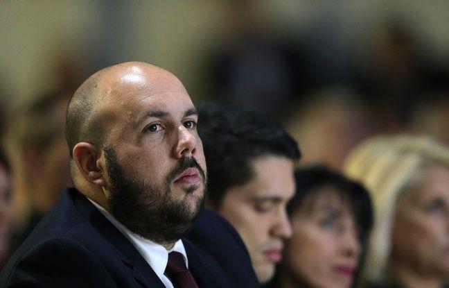 Philippe Vardon, conseiller régional Paca et responsable de la section Front National de Nice.