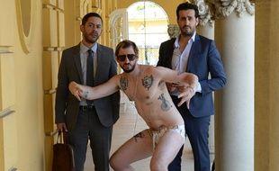Manu Payet, Monsieur Poulpe et Jonathan Cohen dans «Budapest».