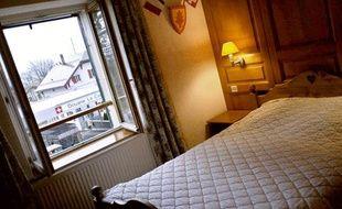 Une chambre d'hôtel, 11 décembre 2006.