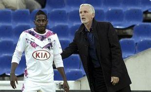 André Poko peut compter sur le soutien de son entraîneur, Francis Gillot, qu'il considère «comme un père dans l'équipe.»