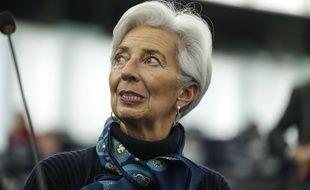La présidente de la Banque centrale européenne, Christine Lagarde, le 11 février 2020.