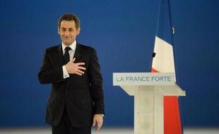 Toujours à la traîne dans les sondages, Nicolas Sarkozy a tenté dimanche à Villepinte de donner un second souffle à sa campagne présidentielle et créé la surprise en exigeant des réformes de l'Europe, seule capable à ses yeux de protéger la France.