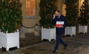 Edouard Philippe à Matignon, le 26 novembre 2019.