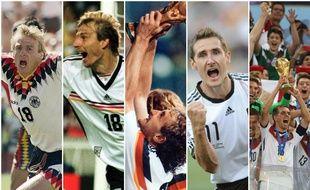 Là-bas, outre-Rhin, la Mannschaft depuis 1990 a fait battre un petit cœur teuton