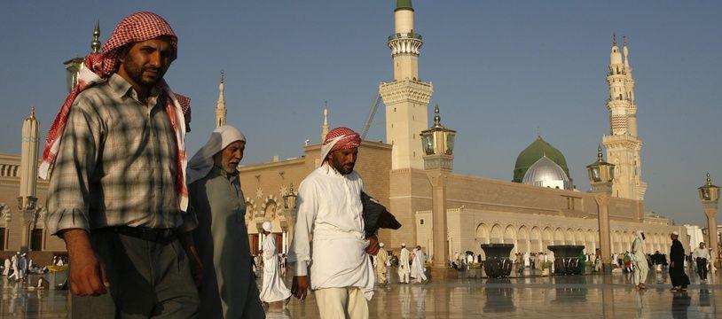 La Mosquée du prophète dans la ville sainte de Médine en Arabie saoudite, en décembre 2008.