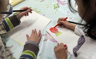 Lezennes, le 19 septembre 2013. Des ateliers périscolaires ont été mis en place pour les élèves  dans le cadre de la reforme des rythmes scolaires.M.Libert/20 Minutes