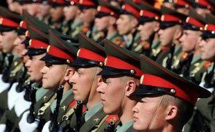 La Russie a commémoré jeudi la victoire de 1945 sur le régime nazi avec un défilé de 11.000 militaires sur la place Rouge à Moscou et des bombardiers dans le ciel, une démonstration de force digne de l'Union soviétique.