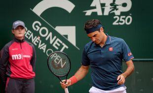 Roger Federer s'est incliné d'entrée au tournoi de Genève face à l'Espagnol Pablo Andujar, ce mardi.