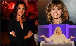 Karine Le Marchand, Faustine Bollaert et Laurence Boccolini sont en lice pour le prix d'animatrice de la saison aux TV Notes