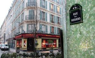 La rue des Rosiers à Paris (image d'illustration).