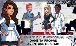 Image du jeu mobile «Kim Kardashian : Hollywood».