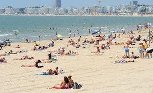 La plage de Pornichet