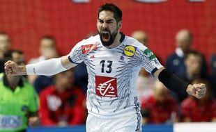 Nikola Karabatic et les Experts se sont arrachés pour battre la Norvège en ouverture de l'Euro de handball (32-31), le 12 janvier 2018.