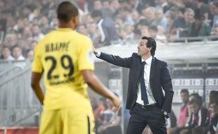Emery et Mbappé