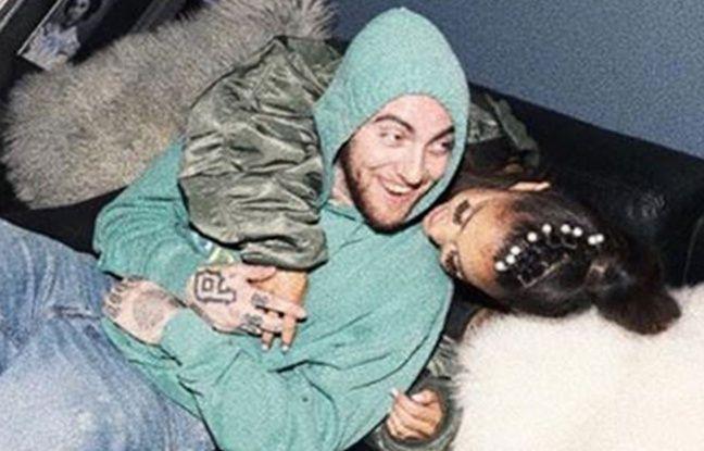La photo de Mac Miller et la chanteuse Ariana Grande partagée par cette dernière sur sa