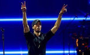 Le chanteur Enrique Iglesias