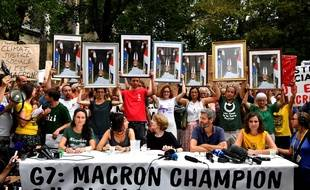 Manifestation à Bayonne