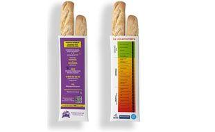 Les emballages de pain pour lutter contre les violences conjugales.